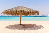 Idyllic beach of Mahmya island in Egypt — Stock Photo