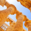 Pillars of the Great Hypostyle Hall in Karnak Temple — Stock Photo #24630533