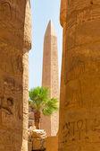 Obelisk of Queen Hapshetsut in Karnak — Stock Photo
