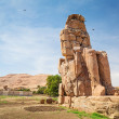 Stock Photo: Colossi of Memnon in Egypt