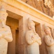 Stock Photo: Statues of Queen Hatshepsut in Egypt