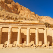 Stock Photo: Columns in Temple of Queen Hatshepsut