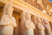 Statues of Queen Hatshepsut in Egypt — Stock Photo