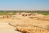 Desert at the Temple of Queen Hatshepsut — Stock Photo