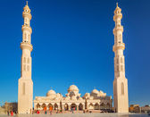 Beautiful architecture of Mosque in Hurghada — Stock Photo