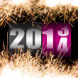 Happy New Year 2014 — Stock Photo #25096123