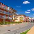 Street with new apartments — Stock Photo #25117827