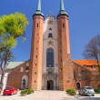 Basilica of The Holy Trinity in Gdansk Oliwa — Stock Photo