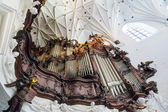Great organ of Oliwa Archcathedral in Gdansk — Stock Photo