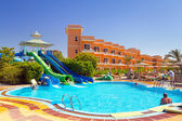 Tropical resort Three Corners Sunny Beach in Hurghada — Stock Photo