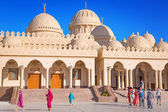 Beautiful architecture of Hurghada Marina Mosque in Egypt — Stock Photo