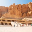 Stock Photo: Mortuary Temple of Queen Hatshepsut