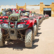 Quad trip on the desert near Hurghada — Stock Photo #25413591
