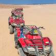 Quad trip on the desert near Hurghada — Stock Photo #25413845
