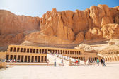 The Mortuary Temple of Queen Hatshepsut — 图库照片