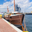 Scenery of Gdynia city at Baltic Sea — Stock Photo