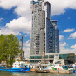 Sea Towers skyscraper in Gdynia, Poland — Stock Photo