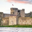 Stock Photo: King John Castle in Limerick
