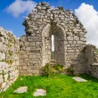 Stock Photo: Ruins of old abbey in Co. Clare