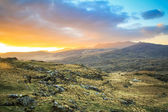 Killarney pass in county Kerry at sunset — Stock Photo