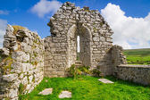 Ruins of old abbey in Co. Clare — Stock Photo