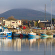 Stock Photo: Irish seaport scenery in Dingle