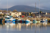 Irish seaport scenery in Dingle — Stock Photo