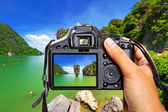 Thailand with the camera — Stock Photo
