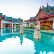 Oriental style architecture in Thailand — Stock Photo #26407383
