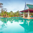 Oriental style architecture in Thailand — Stock Photo #26409391