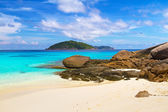 Paradise beach of Similan islands — Foto Stock