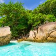 plage paradisiaque des îles similan — Photo