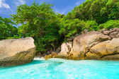 Paradise beach of Similan islands — Stock Photo