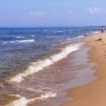 Beach at the Baltic Sea — Stock Photo