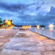 Promenade at Andaman Sea — Stock Photo
