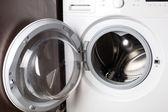 Empty washing machine — Stock Photo