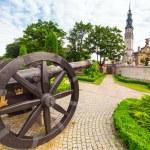 Cannons under Jasna Gora monastery in Czestochowa — Stock Photo #27558457
