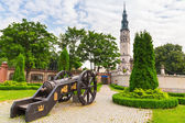 Cannons under Jasna Gora monastery in Czestochowa — Stock Photo