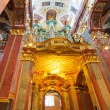 Interiors of Jasna Gora monastery in Czestochowa — Stock Photo