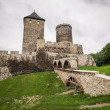 Medieval castle in Bedzin — Stock Photo