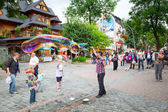 Krupowki street in Zakopane, Poland — Stock Photo