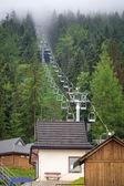 Wielka Krokiew ski jumping arena in Zakopane — Stock Photo