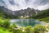 Eye of the Sea lake in Tatra mountains — Stock Photo