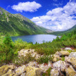 Eye of the Sea lake in Tatra mountains — Stock fotografie