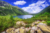 Eye of the Sea lake in Tatra mountains — Stock Photo
