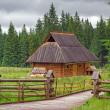 Traditional wooden hut in Tatra mountains — Stock Photo