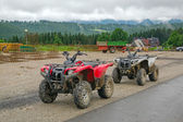 Quad trip in Tatra mountains near Zakopane — Stock Photo