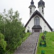 Church in Pieniny mountains — Stock Photo