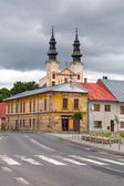 Church in Podolínec town — Stock Photo