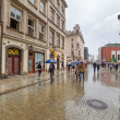 Main market square of Old Town in Krakow, Poland — Stock Photo #28932759
